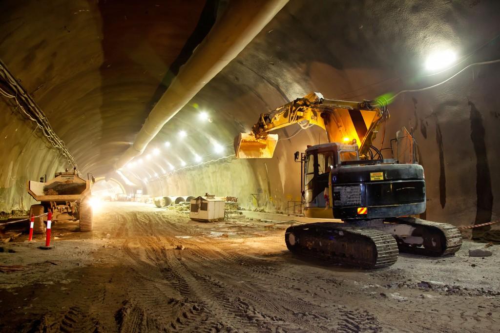 Krachtige ventilatie voor tunnelproject